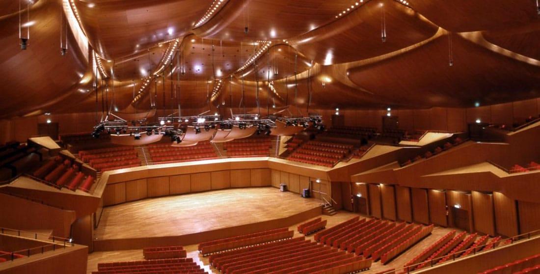 Accademia santa cecilia 39 gusto for Auditorium parco della musica sala santa cecilia
