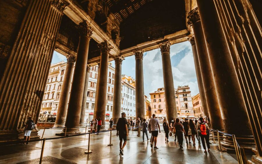 entrata pantheon